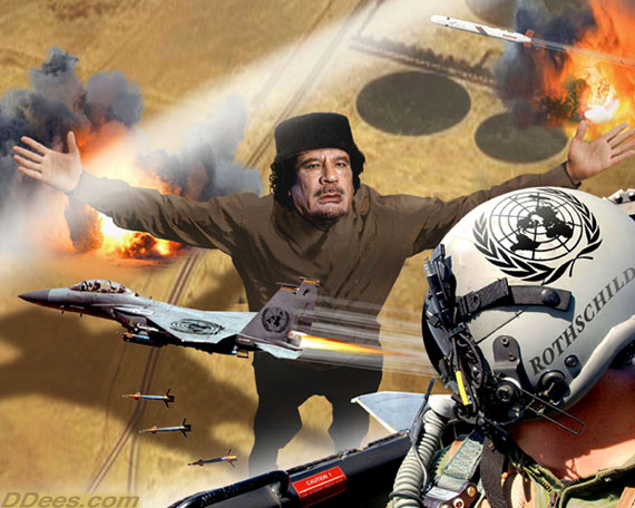 Kaddafi vs West