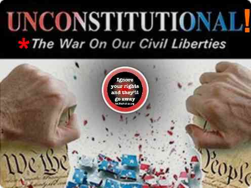unconstitutional the war on our civil liberties essay