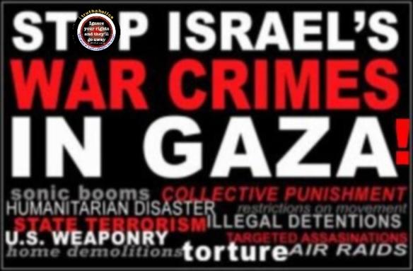 stop israeli war crimes