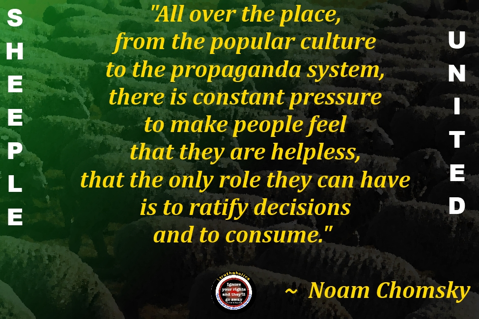 money  politicians and religion rule the sheeple