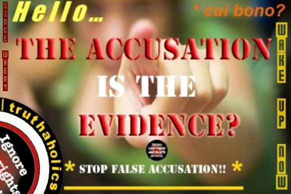 False accusationA