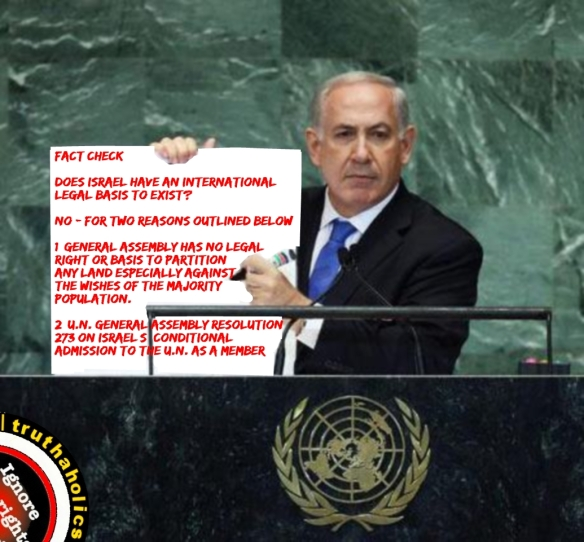 Why is the world questioning Israel's right to exist where it is now?