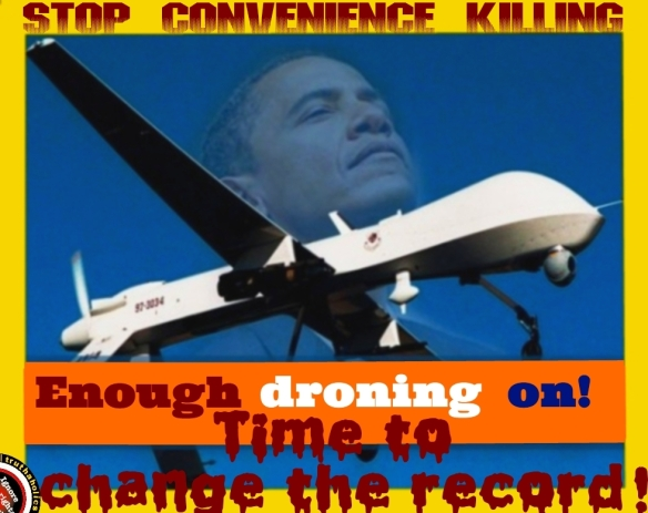 STOP DRONE WARa