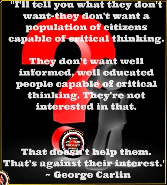 critical thinkingC