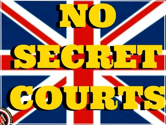 NO SECRET COURTS UK