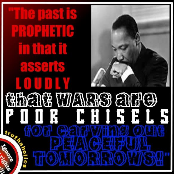 MLK war chisel