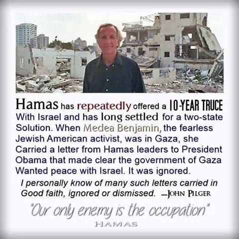 HamasTrucePilger
