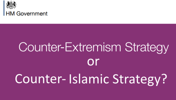 counter-extremism or counter Islamic