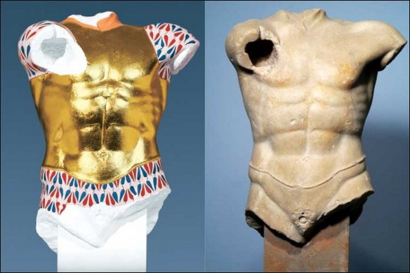 the original colors of ancient Greek and Roman sculptures 3