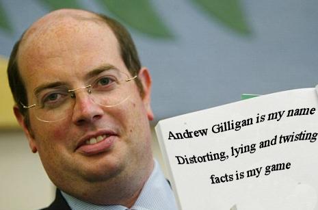 Andrew GilliganLiar