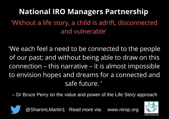 Quotes From Dr Bruce Perry: 'Without A Life Story, A Child Is Adrift, Disconnected And