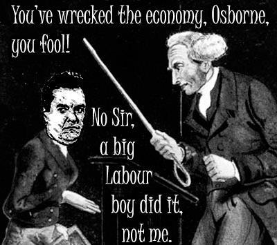 Image result for a big labour boy did it osborne
